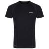 Regatta Funktions- T- Shirt Luray schwarz
