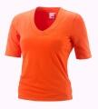 Joy Sportswear T-Shirt Willa V-Ausschnitt orange