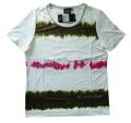 Canyon T-Shirt white-khaki-pink