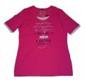 Canyon Women Sports T- Shirt pink- weiss