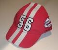 Arlen Ness Base Cap Stripes red