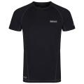 Regatta Funktions-T-Shirt Luray schwarz
