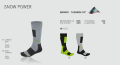 F Socken Snow Power Skisocken