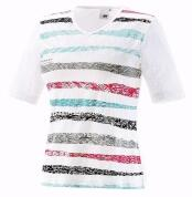 Joy T-Shirt Wiona tropic stripes