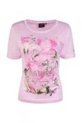 Canyon T-Shirt Druck rose-khaki