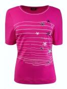 Canyon Women Sports T-Shirt Stars pink