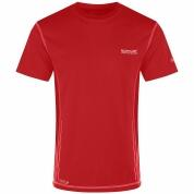 Regatta Funktions-T-Shirt Jenolan rot