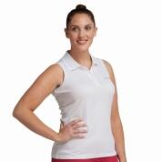 Regatta Fatima Polo Shirt ärmellos weiss