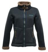 Tolle Strickfleecejacke von Regatta - Wow-Wow in navy