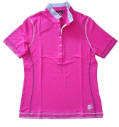 Canyon Women Sports Poloshirt Pique pink