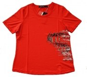 Canyon Women Sports T-Shirt rot mit Druck