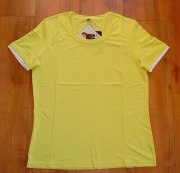Canyon Women Sports T-Shirt Basic-Shirt uni banane