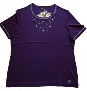 Canyon Women Sports T-Shirt mit Nieten