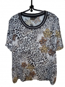 Canyon T-Shirt Druck Floral+Leo