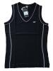Canyon Women Sports Top V- Ausschnitt schwarz