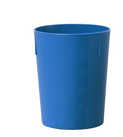 Outdoorbecher 250 ml blau