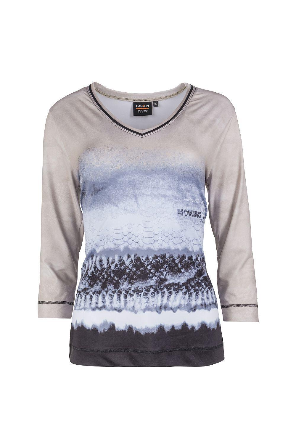 Canyon T-Shirt 3/4 Arm sand-silvergrey