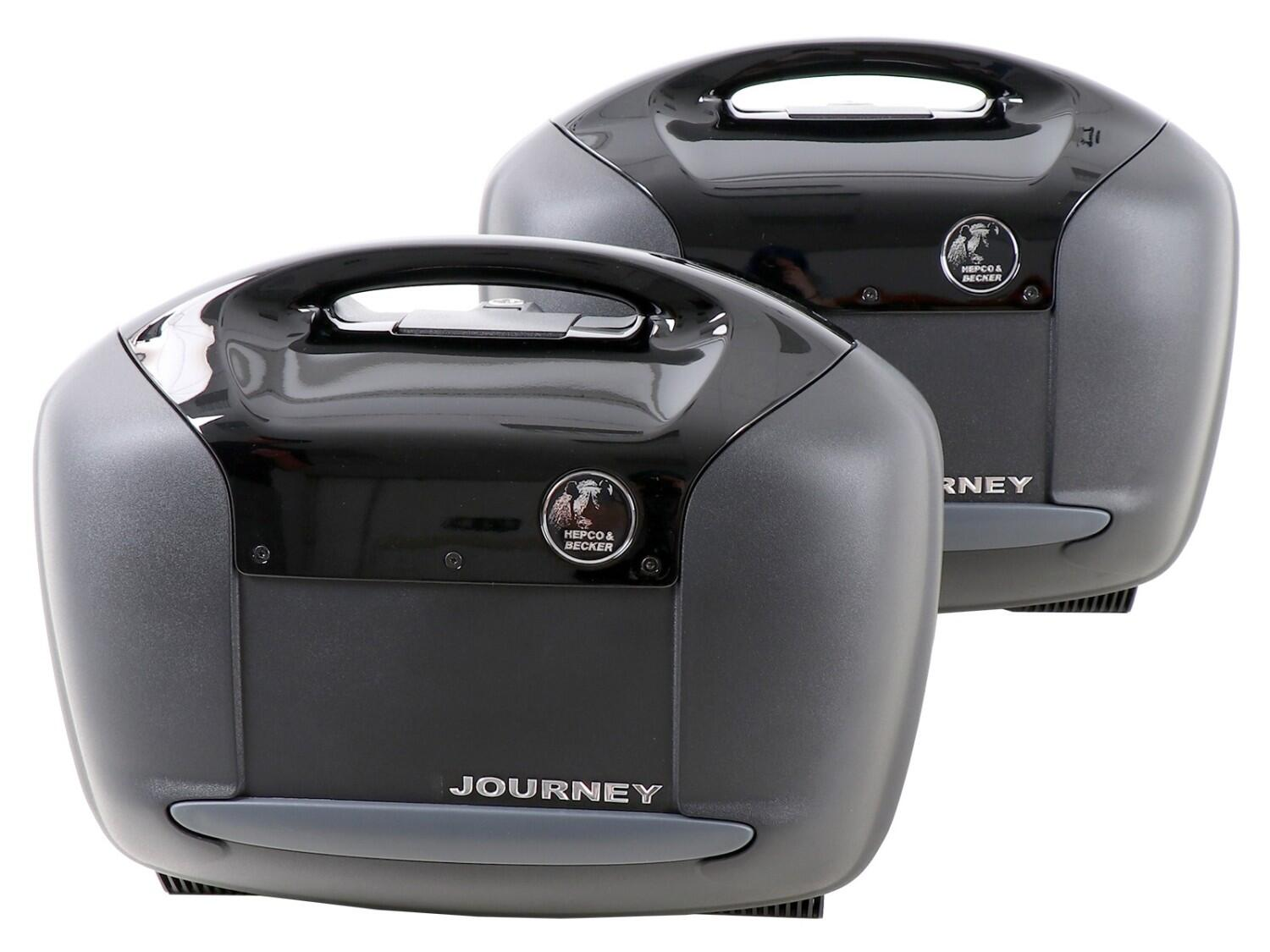 Hepco & Becker Koffer Journey Black
