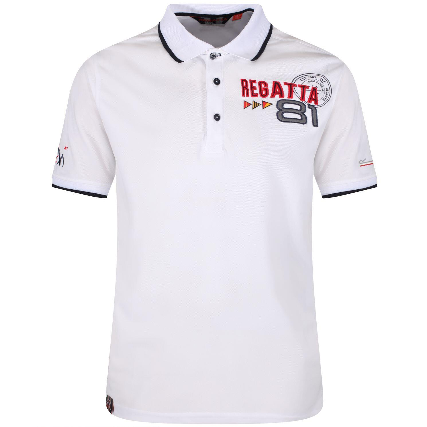 Regatta Polo Shirt Tremont II weiss