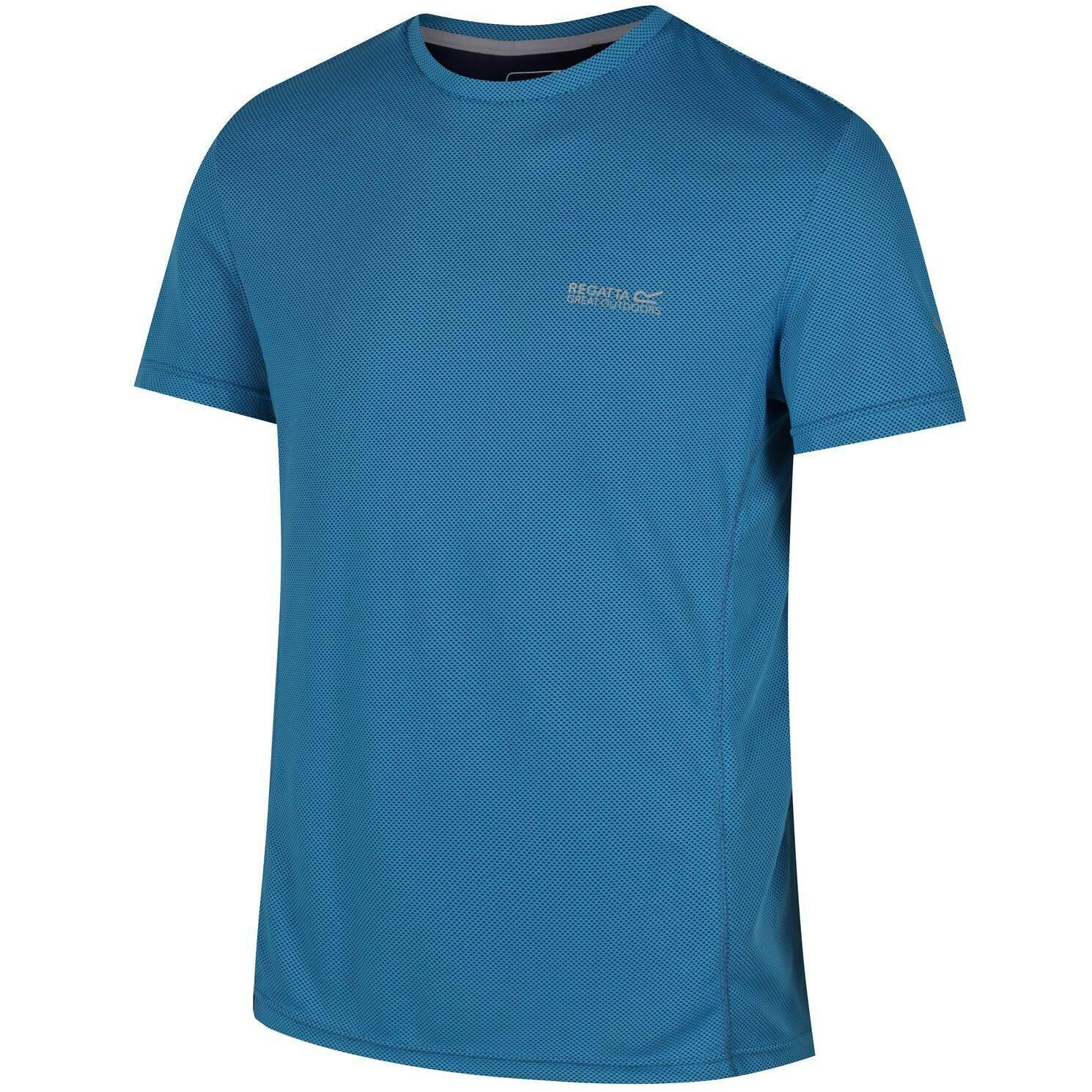 Regatta Funktions-T-Shirt Hyper-Cool blau
