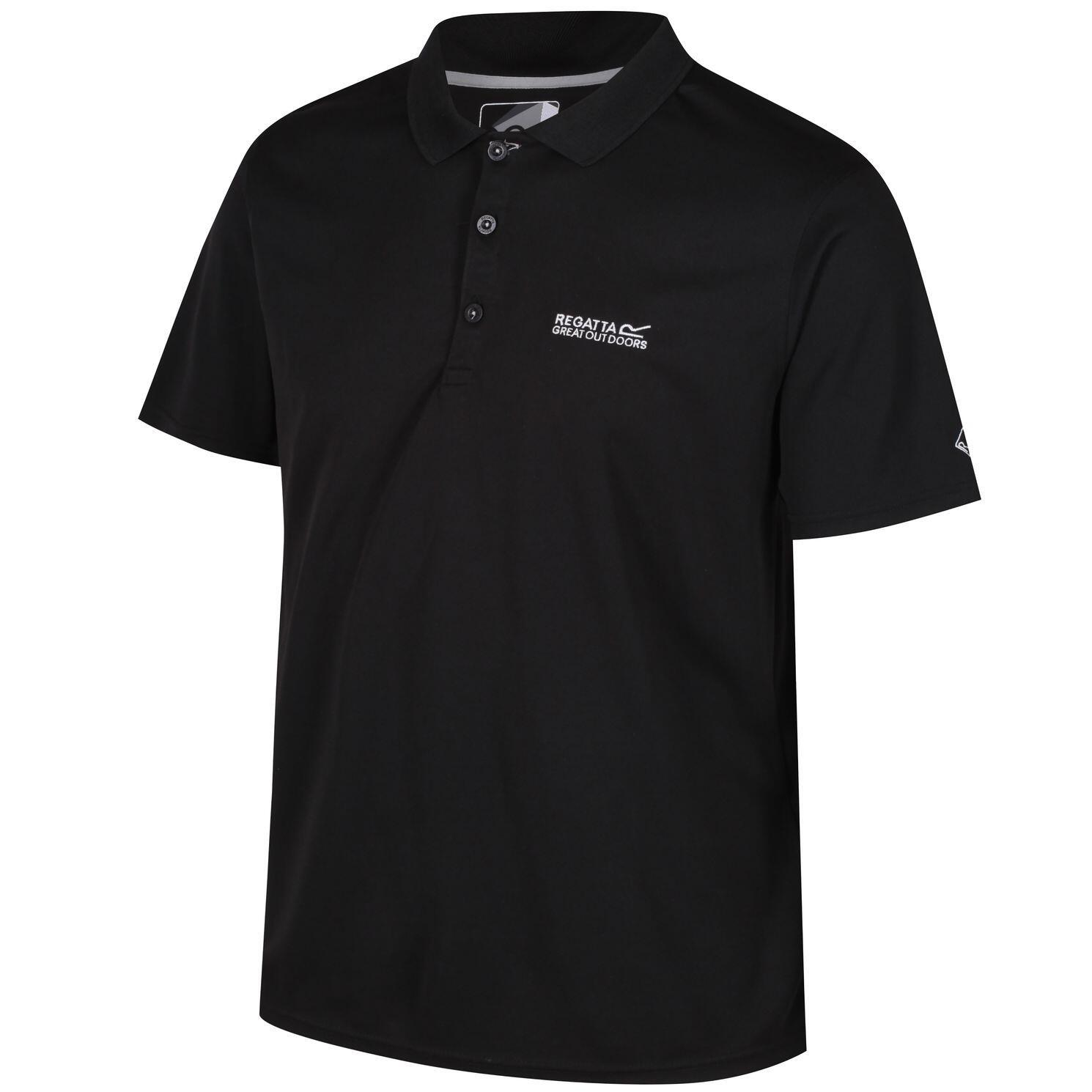 Regatta Polo Shirt Maverik IV Men schwarz