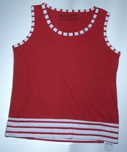 Regatta Tank Top für Damen, Vacation,rot