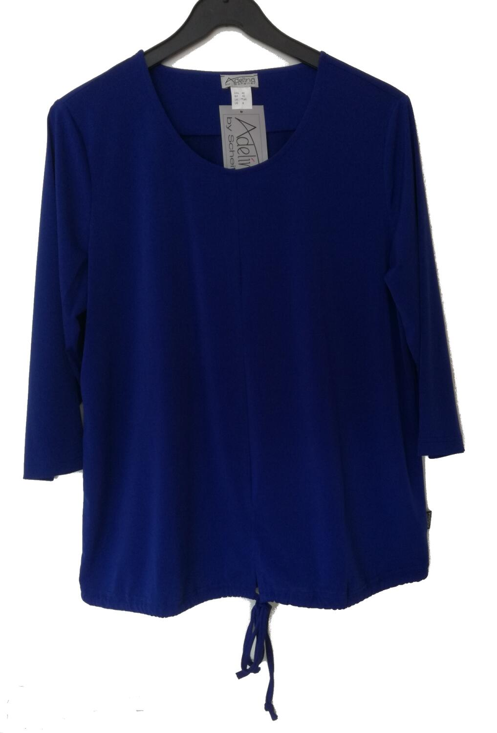Adelina Shirt royalblau 3/4 Arm