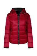 Canyon Jacke cherry wattiert