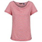 Regatta T-Shirt Francheska red Stripes