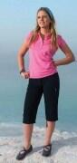 Hot Sportswear Damen- Capri Stretch Ultralight