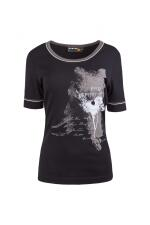 Canyon T-Shirt black Print