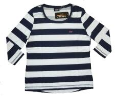Canyon T-Shirt Ringel 3/4 Arm navy-white