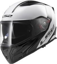 LS2 Klapphelm FF324 Metro Rapid white-black