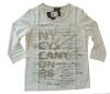 Canyon T- Shirt 3/4 Arm Druck offwhite