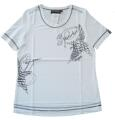 Canyon T-Shirt weiss Stickerei u. Print