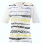 Joy T-Shirt Wiona indigo stripes