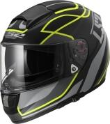 LS2 Helm FF397 Vector FT2 Vantage matt black-yellow