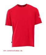 Maul Funktions-T-Shirt in Farbe rot