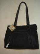 Henkeltasche Modell David Jones - dunkelblau