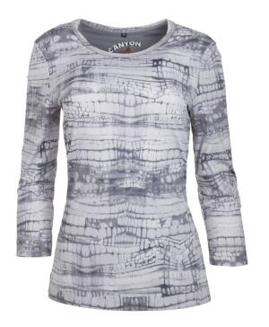 Canyon T-Shirt Allover Druck silvergrey