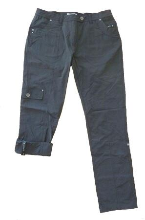 Canyon Damenhose Krempelhose anthrazit