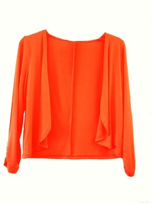Bluebeery Light Shirtjacke orange