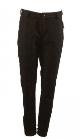 Hot Sportswear Zermatt Men Thermohose Softshell schwarz