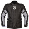 Akito Motorradbekleidung BF Track Star Jacke- schwarz-grau